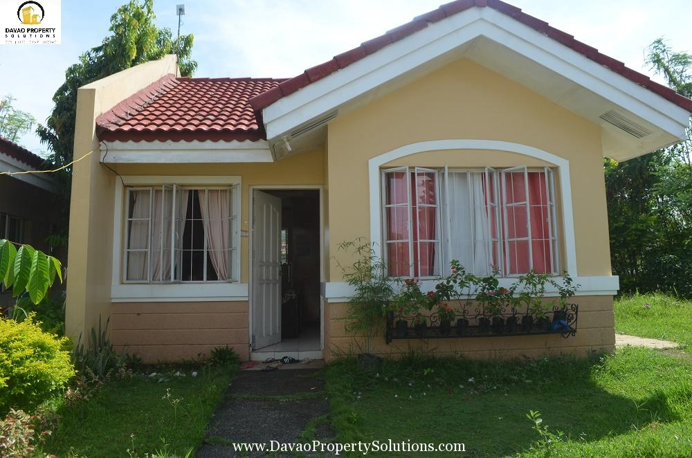 Ready to Occupy 2BR House and Lot for Sale Davao City