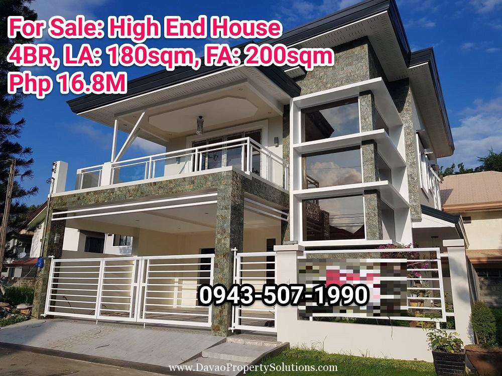 4BR House and Lot for Sale in Ma-a Village Davao City