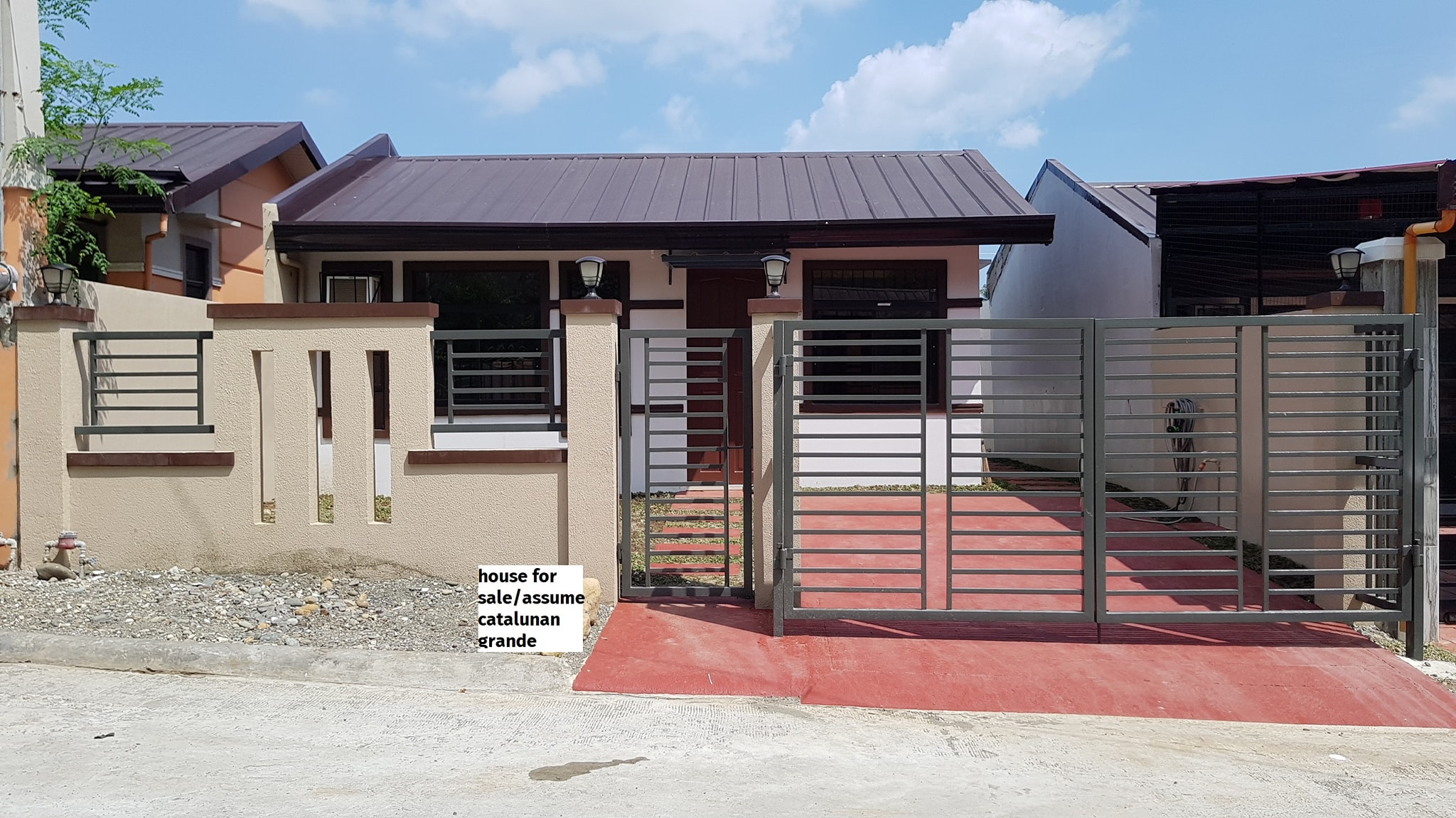 For assume bungalow house in Deca Homes, Catalunan Grande  2...