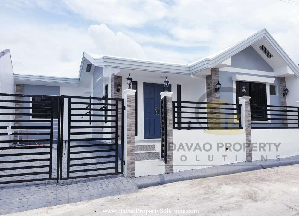 Ready to Occupy  House and Lot for Sale in Cabantian Davao City