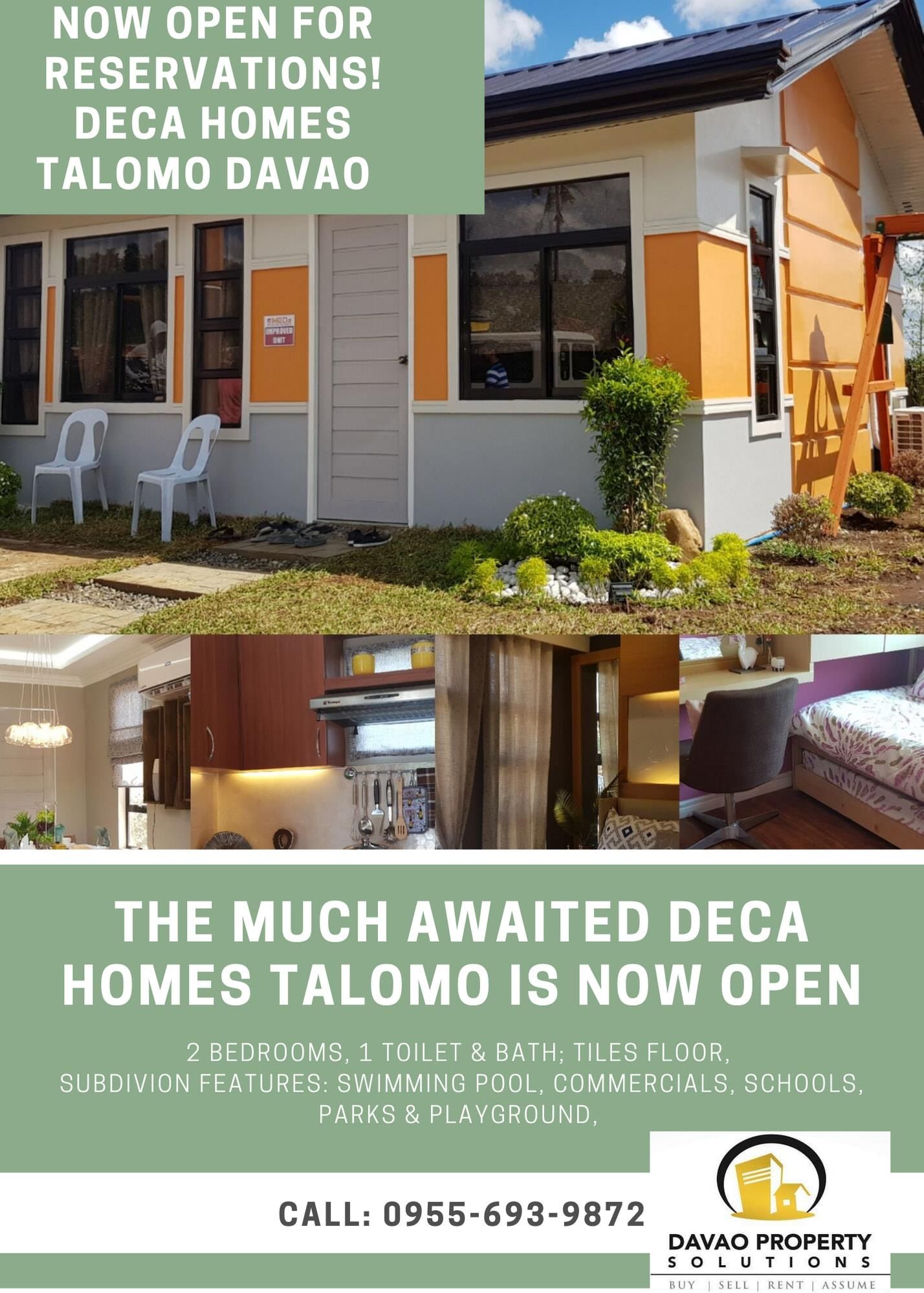 Deca Homes Talomo is the closest available low cost housing ...
