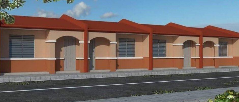 Corazon Rowhouse Model House La Eldaria Subdivision Panabo City in Davao City