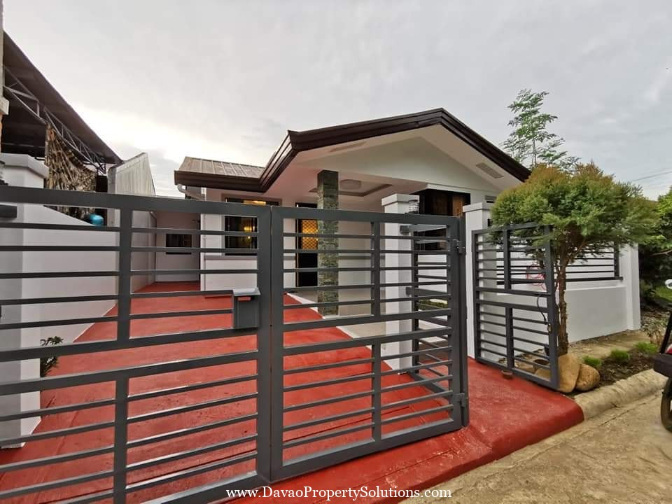 Spacious Bungalow with 200sqm Floor Area Near Davao Airport