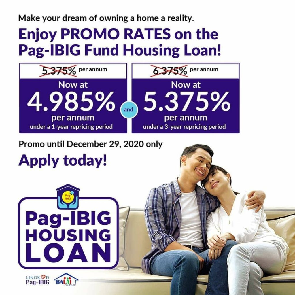 Pag-IBIG Fund offers promo rates on home loans to boost econ...