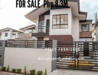 Fully Furnished 4 Bedroom House for Sale in Aspen Heights Communal Buhangin Davao City