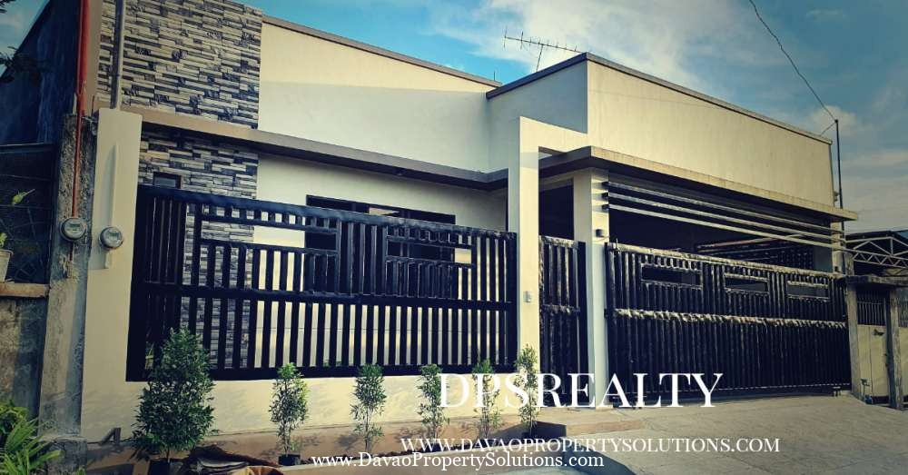 3 Bedrooms Modern House for Sale in Pampanga Lanang Davao City