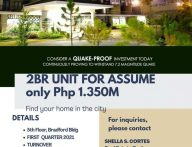 FOR ASSUME 2BR UNIT IN NORTHPOINT DAVAO CITY