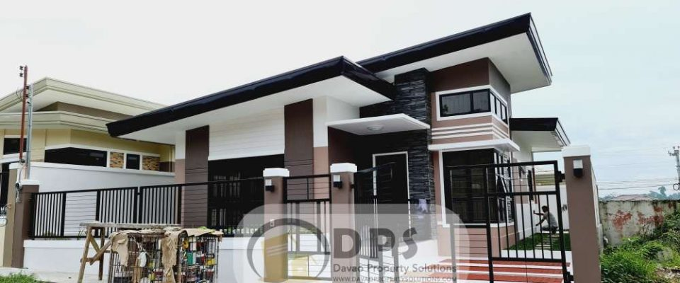 Ready to Occupy House for Sale in Exclusive Subdivision at Ilumina Estates Communal Buhangin Davao City in Davao City