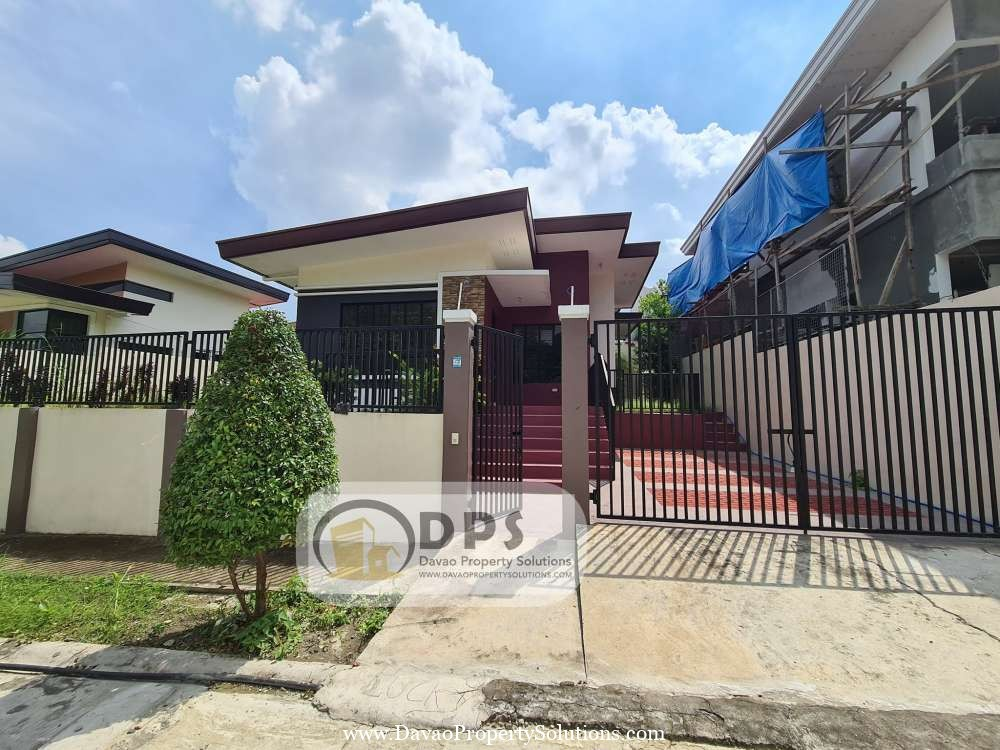 Brandnew Ready to Occupy 3bedroom House for sale in Buhangin Davao City