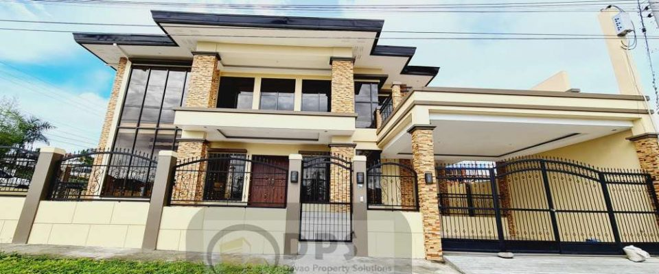 4Bedrooms Corner Lot, 2Storey Big Floor Area House for Sale at Exclusive Subdivision Ilumina Estates Buhangin Davao City in Davao City