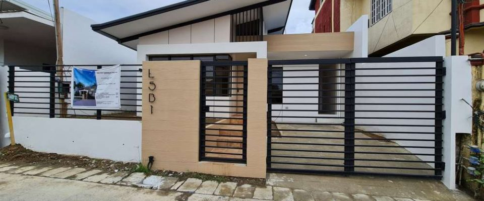 Brandnew 3-Bedroom House for Sale near Davao Airport, Open for Financing in Davao City
